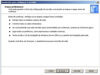 Configuração do Servidor DHCP no Windows Server 2003
