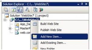 ASP.NET: Menu com nível de acesso
