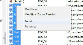 Limpando o Recent Items do Fireworks, Flash e Dreamweaver