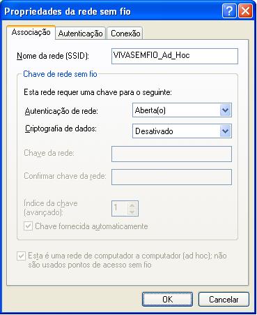 Como configurar rede wireless Ad Hoc