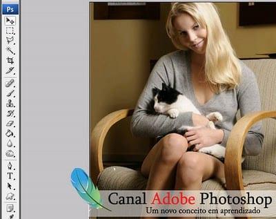 Photoshop - Efeito em fotos - Vintage Glam