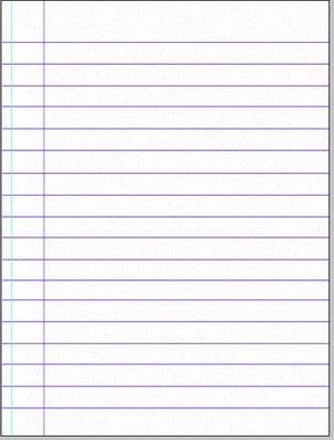 Photoshop: Criando uma folha de caderno