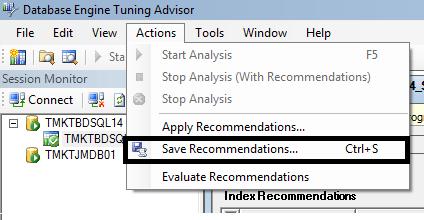 O que é o Data Base Tunning Advisor?