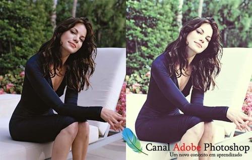 Photoshop: Efeitos em fotos: Color Blending