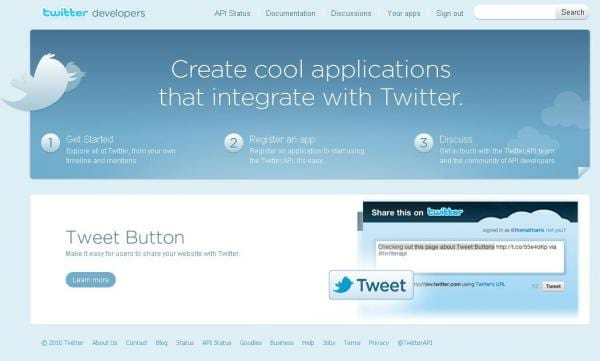 Como obter as chaves de acesso para utilizar a API do Twitter