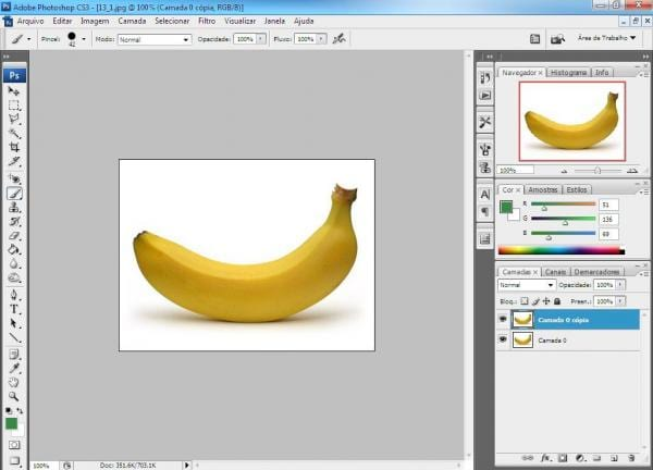 Mudando cor dos objetos - Photoshop