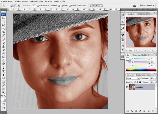 Transformando preto e branco em colorido no Photoshop