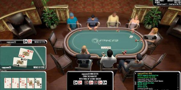 Como jogar pôquer no computador