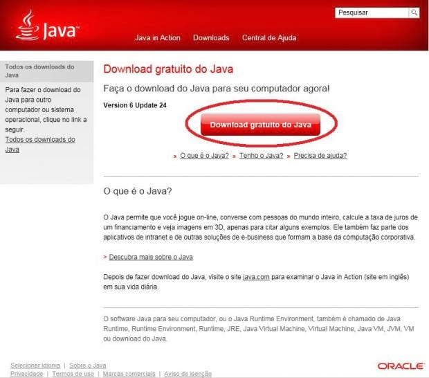 Como Instalar o Java (Máquina Virtual) no Windows?