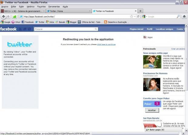 Como integrar o Twitter com o Facebook