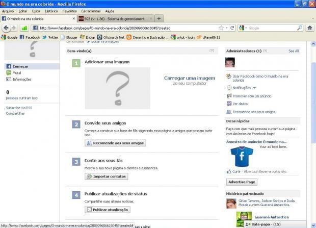 Como criar uma fã page no Facebook