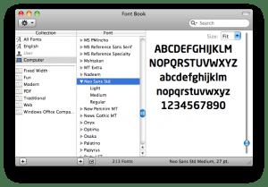 Como instalar fontes no MAC