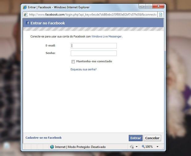 Como integrar MSN com Twitter e Facebook