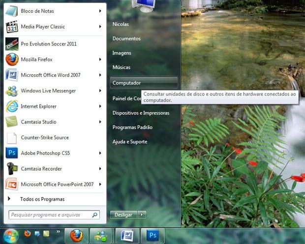 Como pesquisar o conteúdo dos arquivos no Windows 7