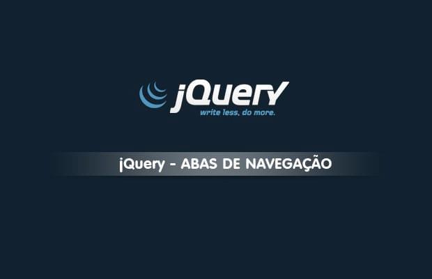 Criando abas de navegação com jQuery