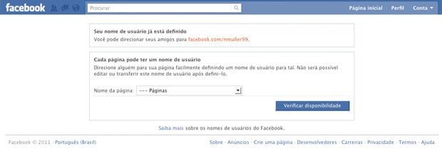 Como criar atalhos no Facebook