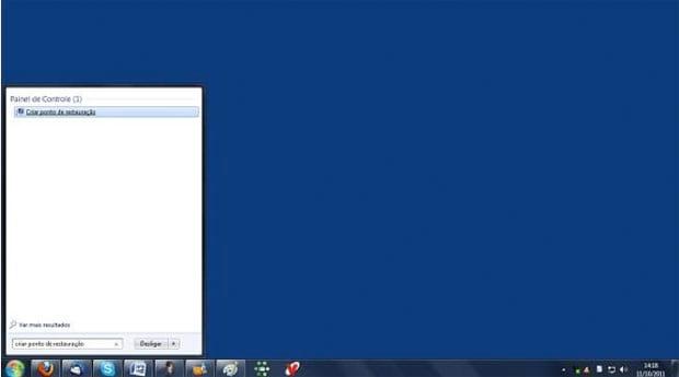 Como criar um ponto de restauração de sistema no Windows 7