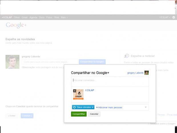 Como criar a sua página no Google+