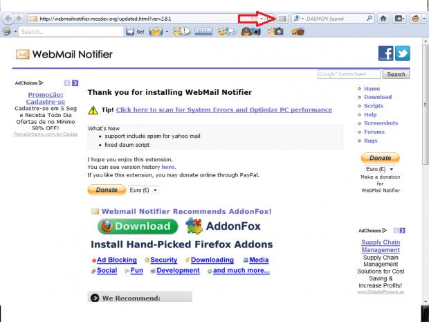 Como controlar várias contas de e-mail usando o Firefox