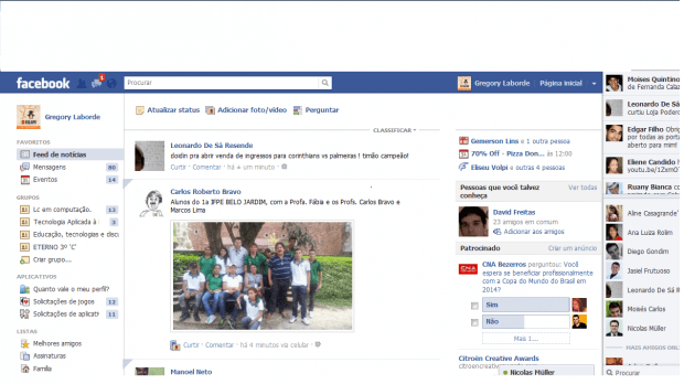 Como utilizar a nova interface do Facebook