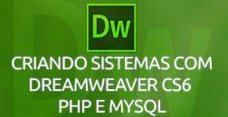 Curso Criando Sistemas com Dreamweaver CS6 PHP e MYSQL