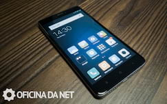 Xiaomi Mi Note 4x - face frontal