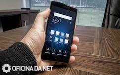 Xiaomi Mi Note 4x - pegada