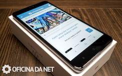 Xiaomi Mi Note 4x - tela ligada no máximo do brilho