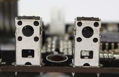 Switches táteis genéricos nos botões de macro