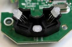 LEDs do Logitech G Pro