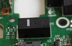 Switch de DPI da Kailh do Logitech G Pro
