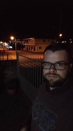 Moto Z3 Play - selfie noturna sem flash