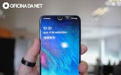 Galaxy A50 - detecção facial