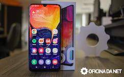 Galaxy A50 - tela