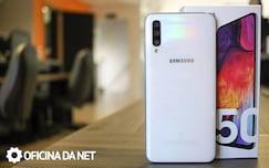 Galaxy A50 - traseira
