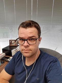Motorola One Action - Selfie normal
