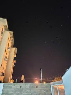 Câmera traseira, modo noturno