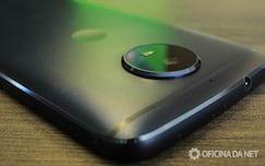 Motorola Moto G5S - protuberância da câmera
