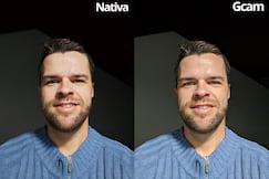 Selfie noturna a favor da luz
