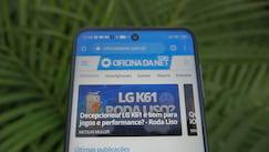 Xiaomi Redmi Note 9s Tela - furo câmera frontal