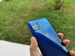 Câmeras do Moto G 5g Plus