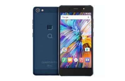 Smartphone QUANTUM Fly 4G 32GB Azul - Dual Chip