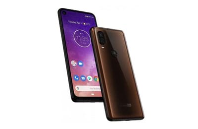 Motorola Moto One Vision 128Gb Bronze Tela 6,3 Câmera Dupla 48Mp Selfie 25Mp Android 9.0 Pie