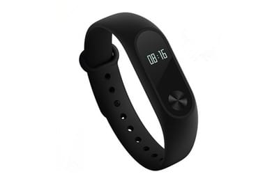 Relógio Xiaomi Mi Band 2 Smart Watch para Android iOS - Preto