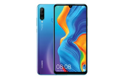 Huawei P30 Lite 128GB 6,15 4G Câmera Tripla 24MP+8MP+2MP 4GB Dual Chip Peacock Blue