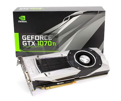 Nvidia GTX 1070 Ti Founders Edition
