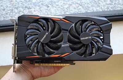 Gigabyte GTX 1050Ti Dual OC