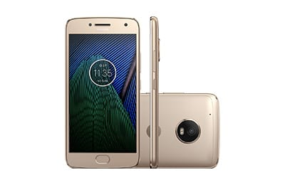 Moto G5 Plus Dual Chip Android 7.0 Tela 5.2 ´ 32GB 4G Câmera 12MP - Platinum