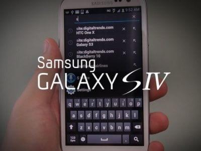 Com Galaxy S IV será possível rolar páginas apenas com olhos