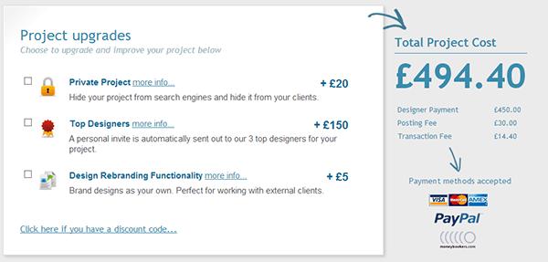 DesignCrowd faça o seu logo ou layout com milhares de designers
